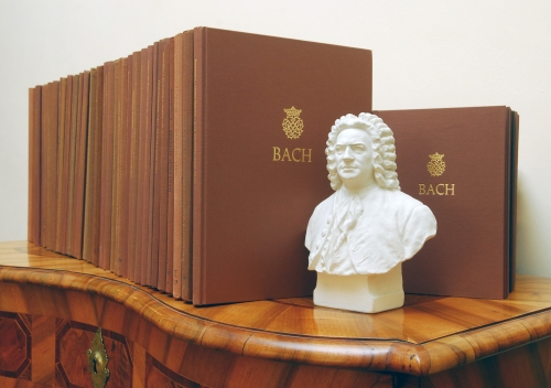 The New Bach Edition. Photo: Gert Mothes