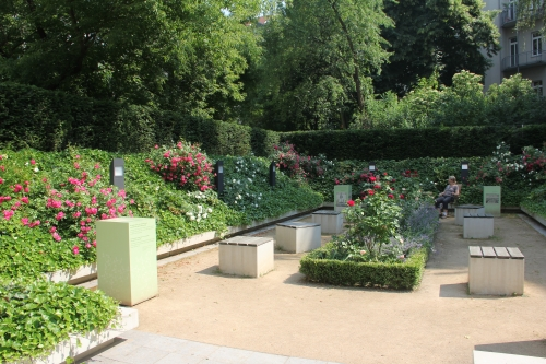 The garden of the Bach-Museum